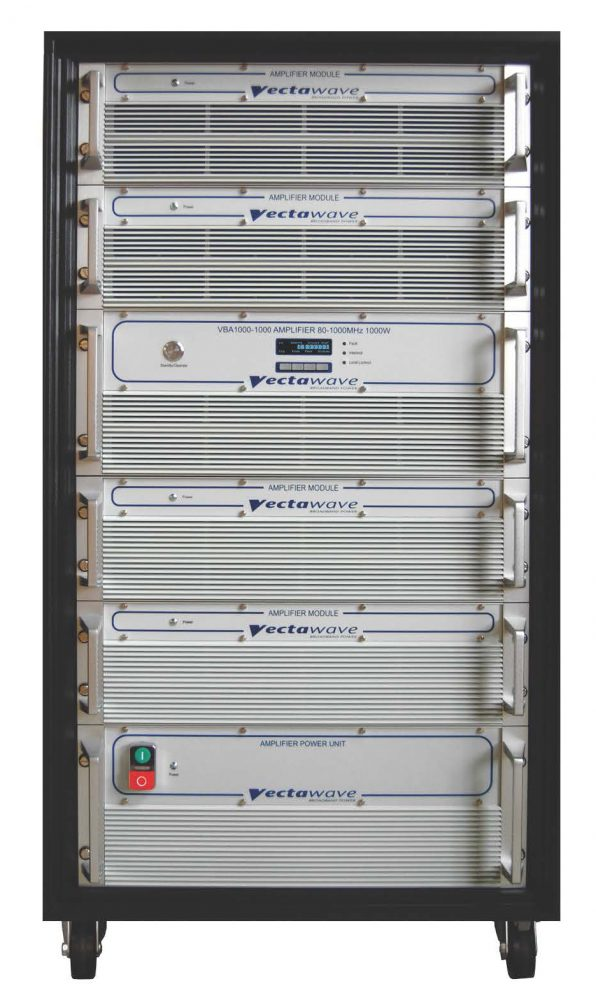 The new VBA1000 – 1000c Compact Amplifier